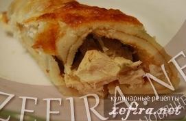 Десерт из сметаны и печенья по-гречески – кулинарный рецепт