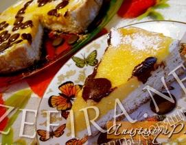 Тыквенный пирог с творогом – кулинарный рецепт