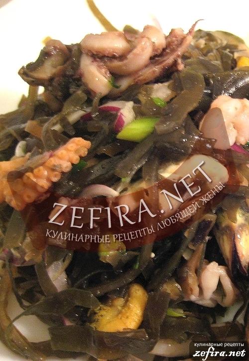Капуста морская - рецепты