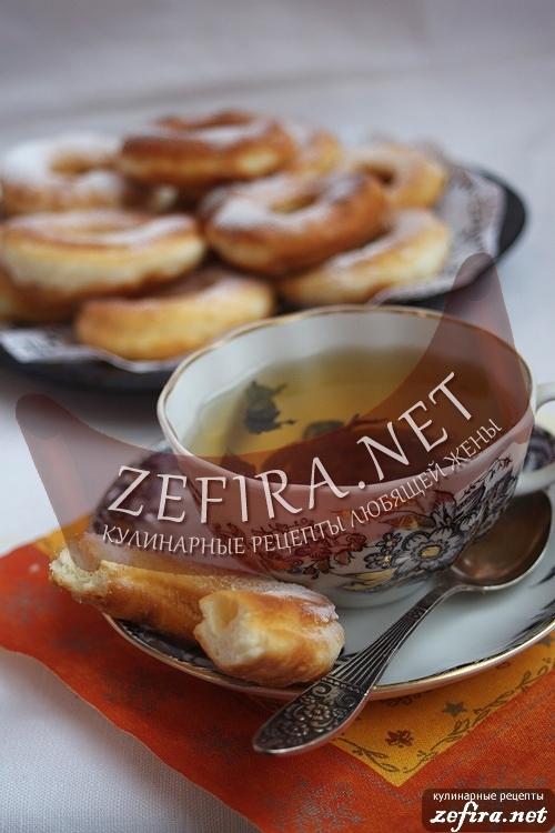 хороший рецепт пончиков на пиве