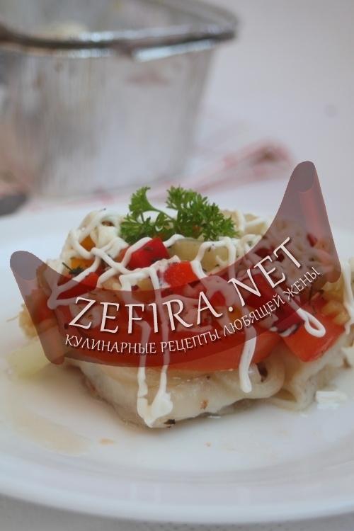 морской язык в духовке с овощами рецепты с фото