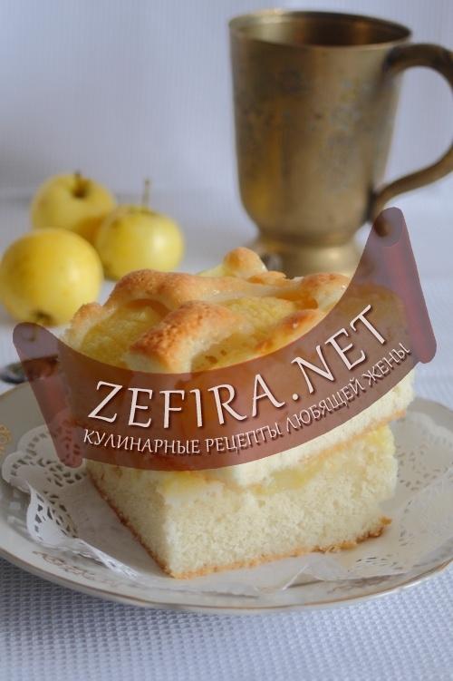 Рецепт яблочного пирога «Воздушный»