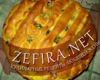 Дрожжевой пирог (фото)