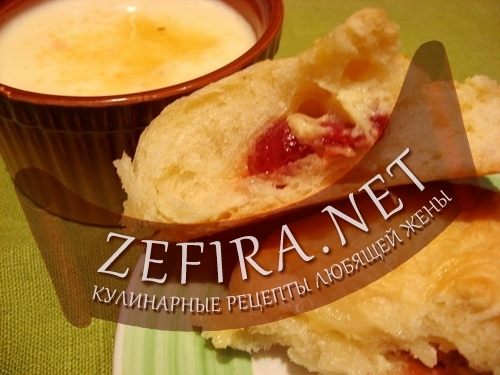 Французские булочки с кремом (фото)