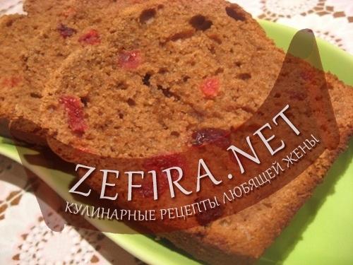 Бездрожжевой хлеб (фото)