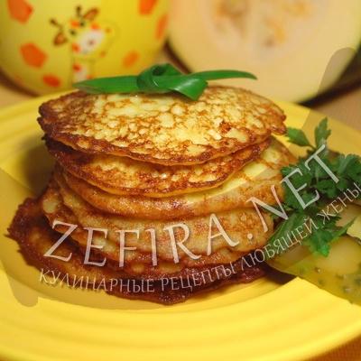 Оладьи из кабачка и картофеля