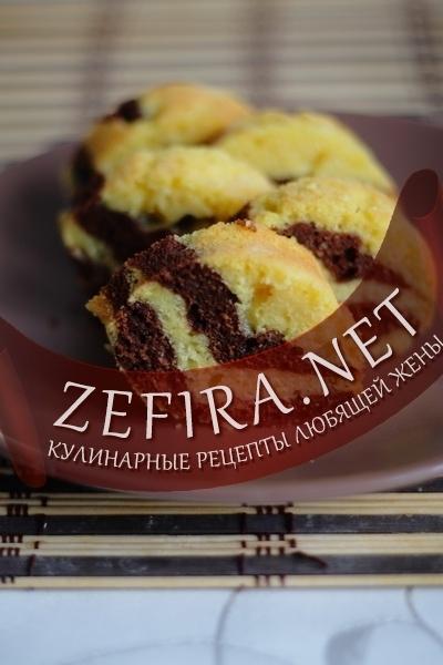 Рецепт кекса с тыквой и шоколадом