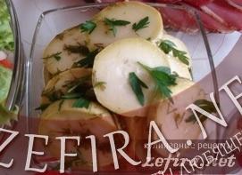 Вкусные маринованные кабачки – быстрый летний рецепт