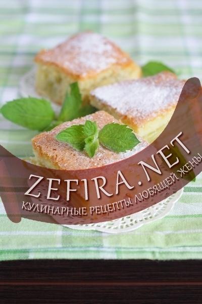 Шарлотка с ревенем – самый простой рецепт пирога