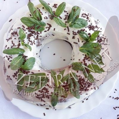 Шоколадный пирог с кабачками
