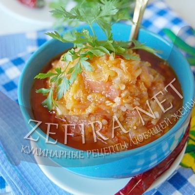 Салат с рисом и овощами – рецепт заготовки на зиму