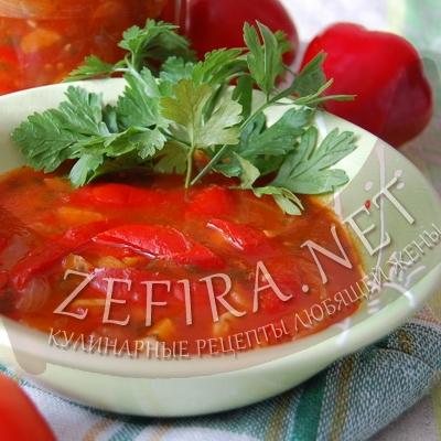 Рецепт лечо из болгарского перца – заготовка на зиму