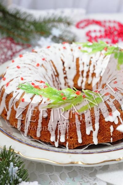 Рождественский кекс с сухофруктами - рецепт и фото