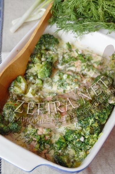 Стейк из горбуши с овощным гарниром – кулинарный рецепт