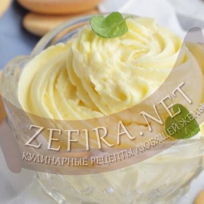 Крем заварной масляный – пошаговый рецепт приготовления