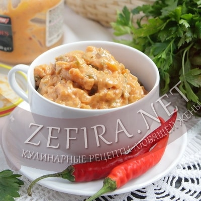Соус из кабачков – рецепт на зиму