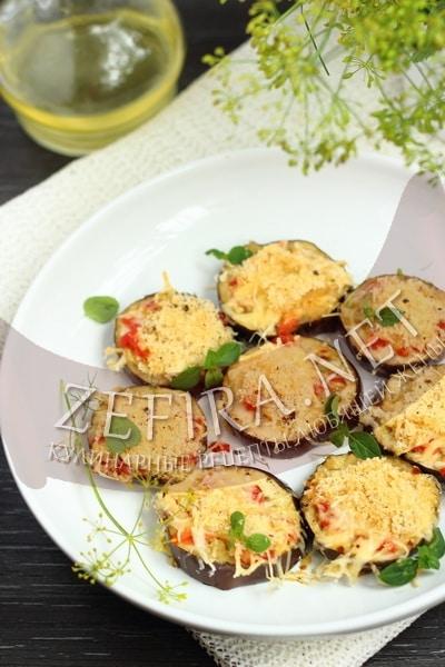 Хрустящий баклажан в духовке - рецепт пошаговый с фото