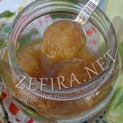 варенье из кабачков и яблок в мультиварке рецепт