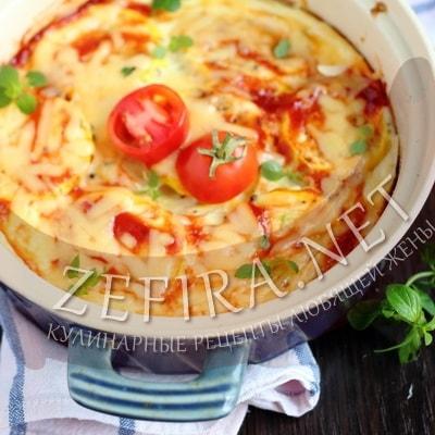 Омлет с кабачками – рецепт в духовке