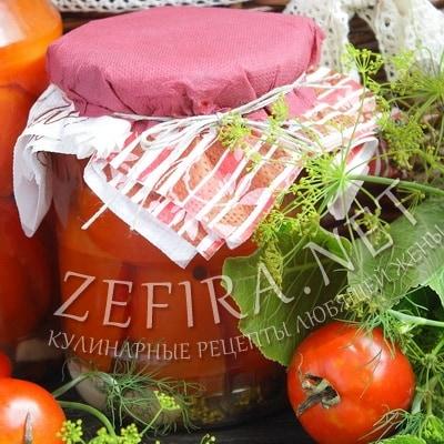 Рецепт маринованных на зиму помидоров с лимонной кислотой