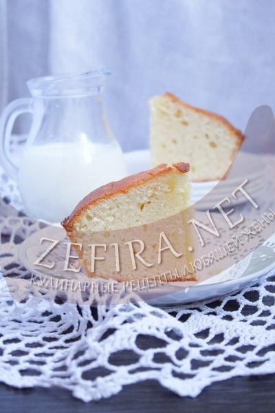 Сметанный кекс - рецепт и фото