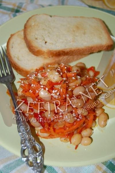 Овощное рагу с фасолью - рецепт и фото