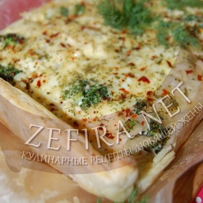 Слоеный пирог с брокколи, сыром и цветной капустой
