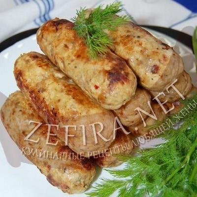 Домашние колбаски из мясного фарша рецепт без кишок