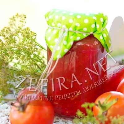 Соус из помидоров и сливы