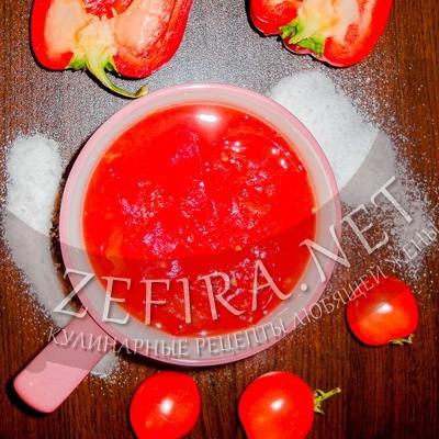 Вкусное лечо из болгарского перца и помидоров без стерилизации