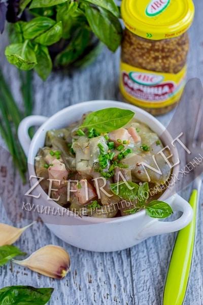 Стручковая фасоль в горчичном соусе с чесноком - рецепт и фото