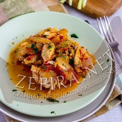 Диетическая рыба под маринадом с овощами – рецепт правильного питания