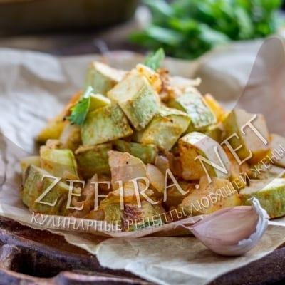 Кабачки в сметане – рецепт приготовления в духовке