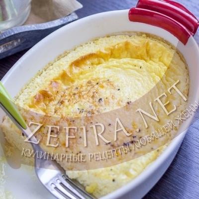 Пышный омлет в духовке – рецепт с молоком и яйцом