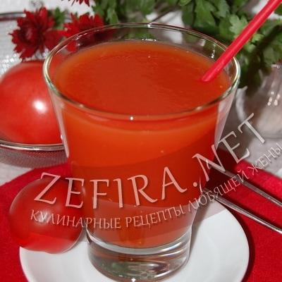 Рецепт домашнего томатного сока на зиму