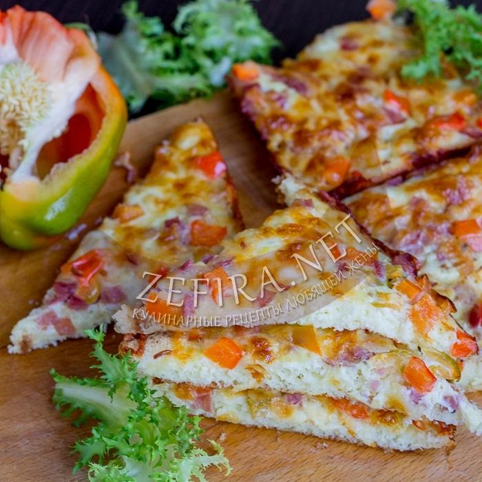 Горячие бутерброды с сыром и яйцом в духовке