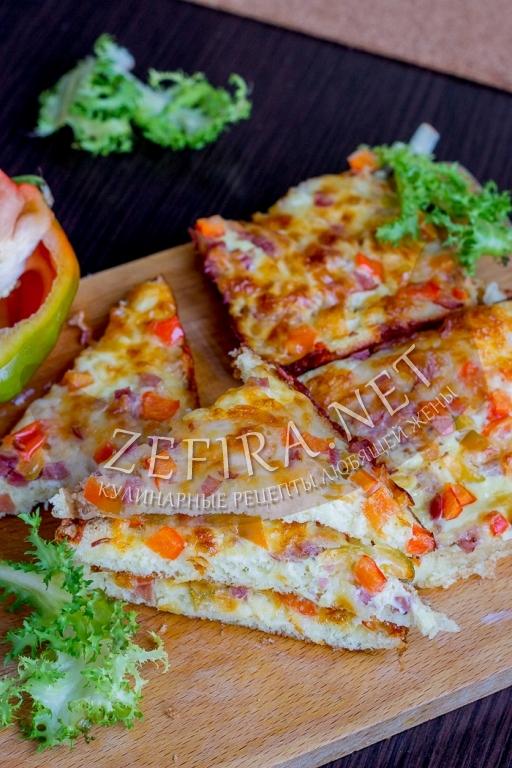 Горячие бутерброды в духовке с сыром и яйцом - рецепт с фото