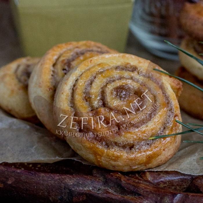 Простое домашнее печенье с корицей «Синабон»
