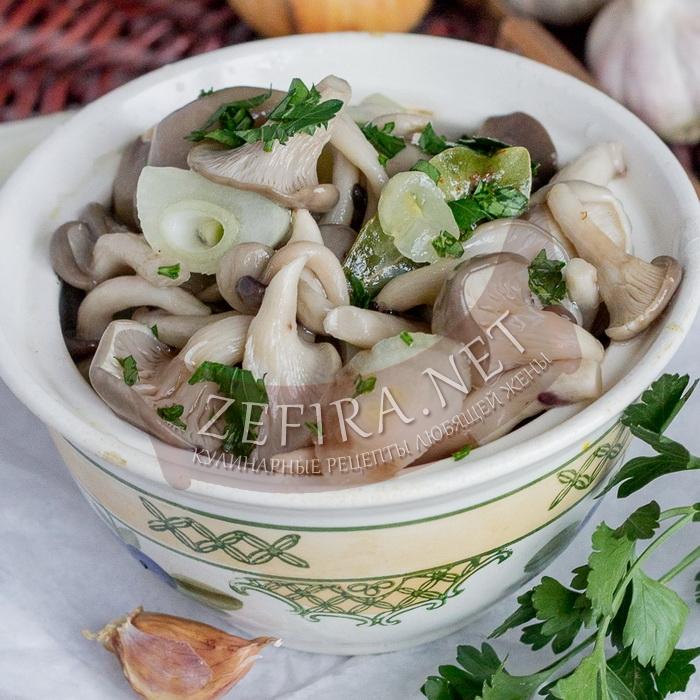 Вкусный домашний рецепт маринованных вешенок