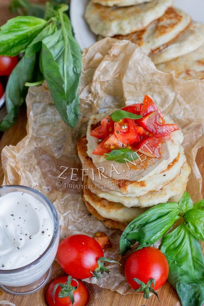 Картофельные драники с фаршем - рецепт с фото