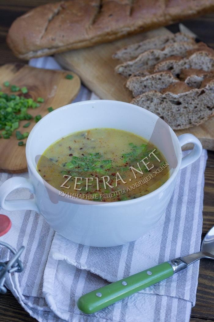 Грибной суп из шампиньонов «Юшка» - рецепт и фото