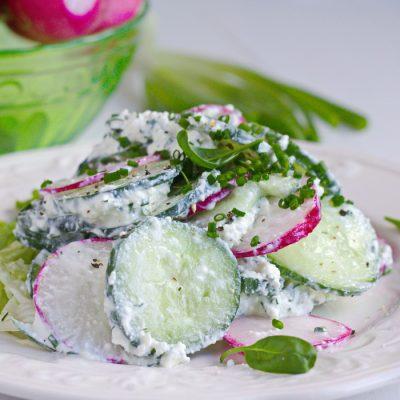 рецепты салата из настоящего краба