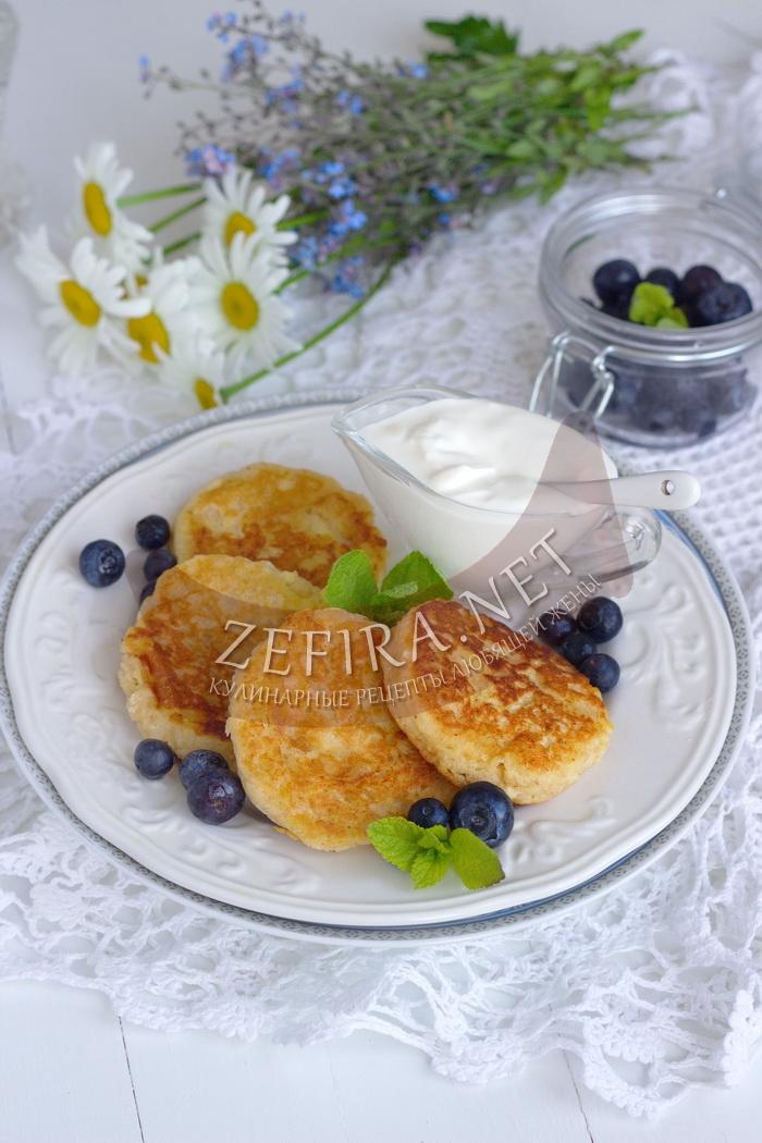 Пп сырники с яблоком - рецепт и фото
