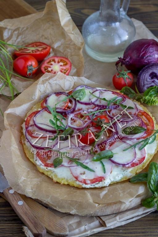 Картофельная пицца на сковороде - рецепт и пошаговые фото