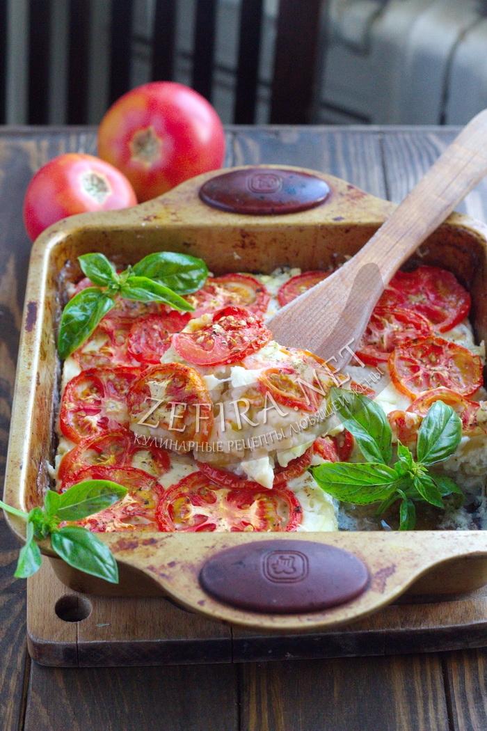 Запеканка из кабачков с помидорами и сыром в духовке- рецепт и пошаговые фото