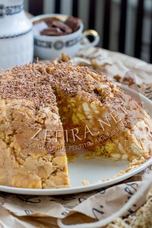 Торт «Муравейник» из печенья и сгущенки - рецепт и пошаговые фото