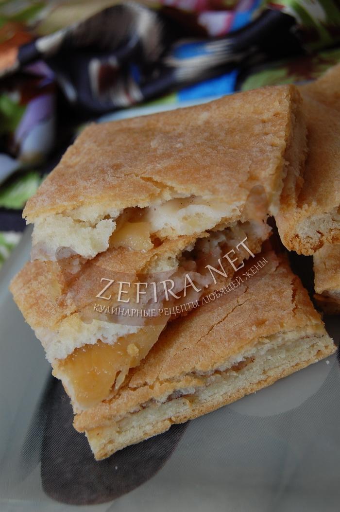 Вкусный яблочный пирог - простой рецепт с корицей