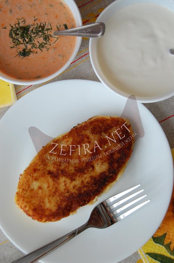 Картофельные зразы - рецепт и фото