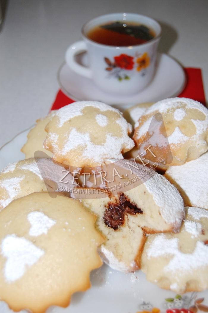 Простой рецепт кексов с шоколадом в формочках с фото