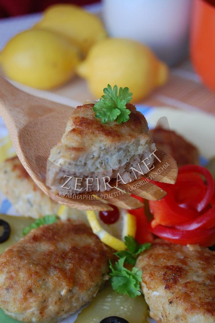Рыбные котлеты из минтая - рецепт и фото